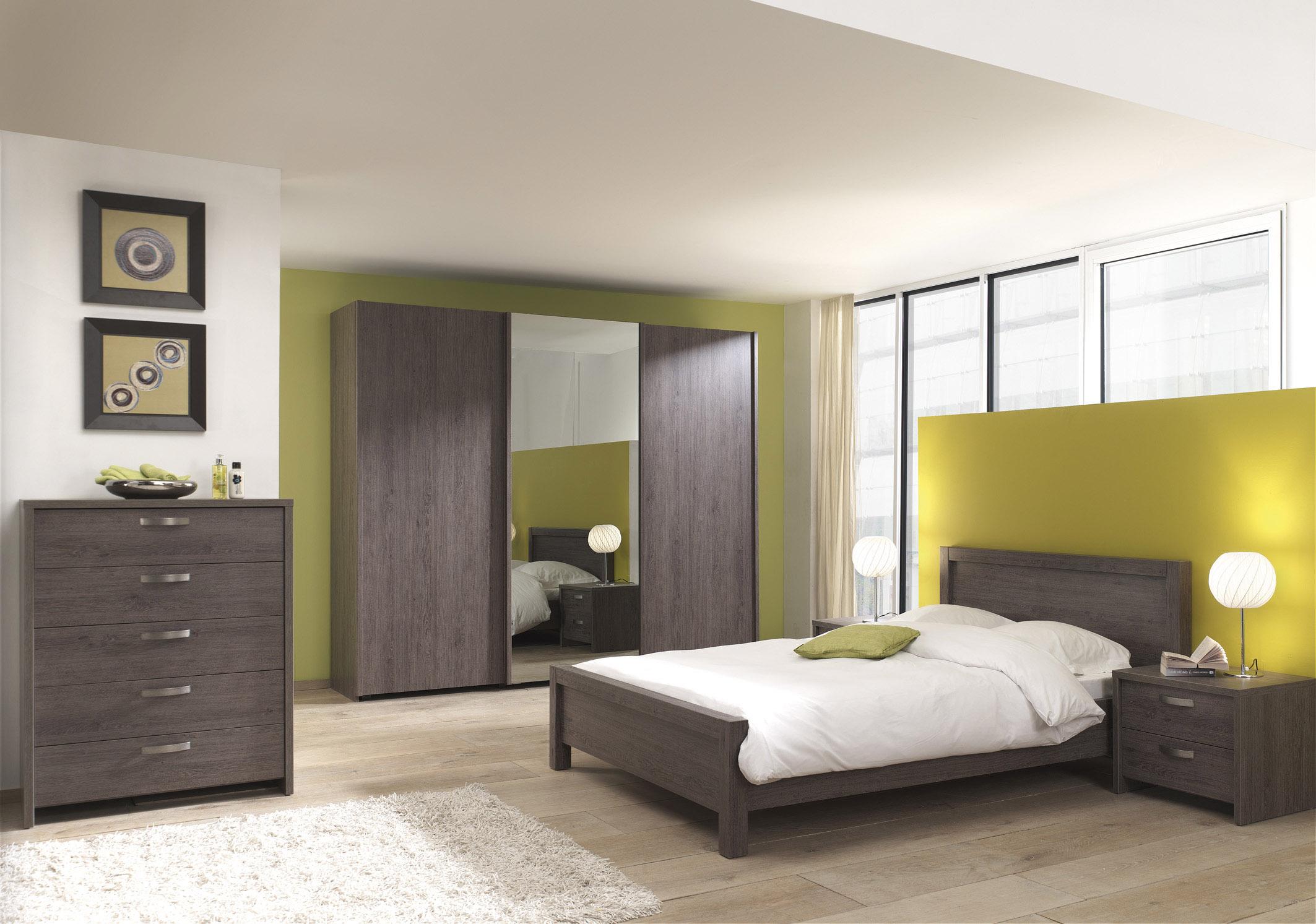 Slaapkamer amy meubelen voor thuis salons eetkamers for Chambre a coucher adulte ikea